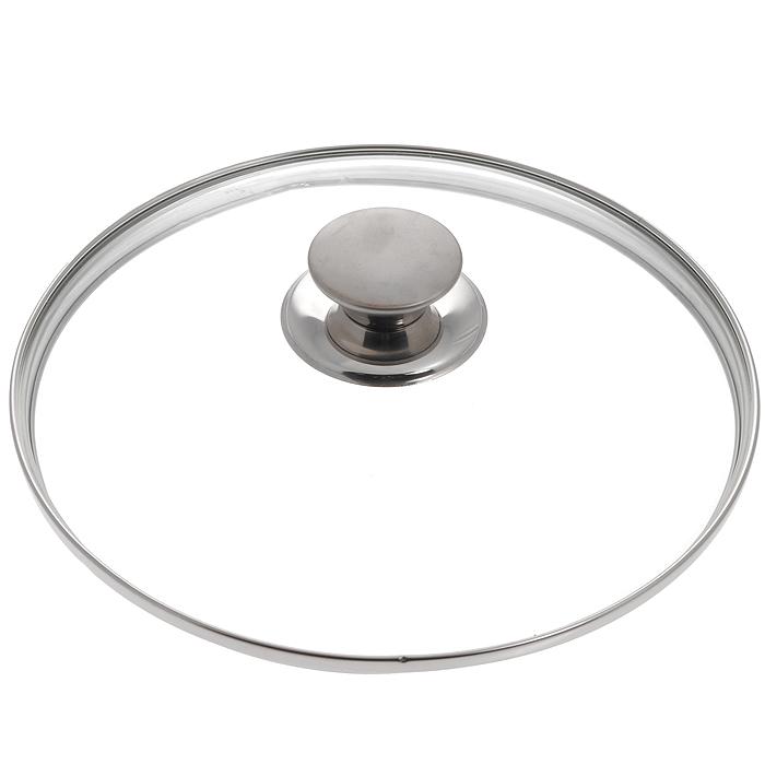 """Крышка стеклянная """"Silampos"""", диаметр 28 см. 632000BE8128B"""