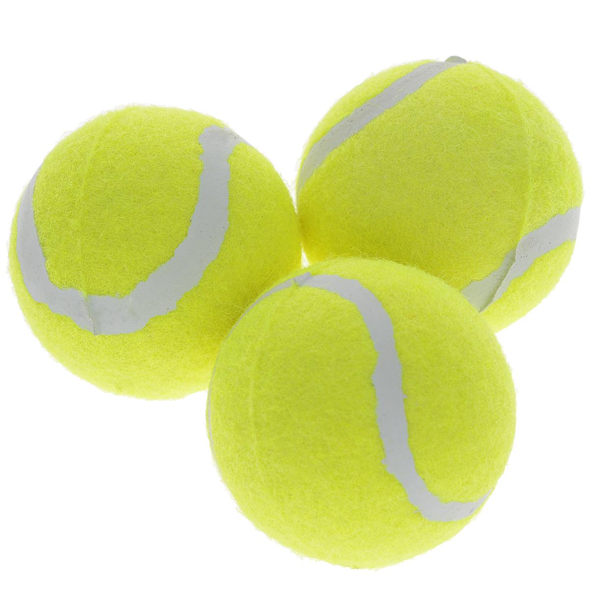 Набор теннисных мячей Start Up, в тубе, 3 шт