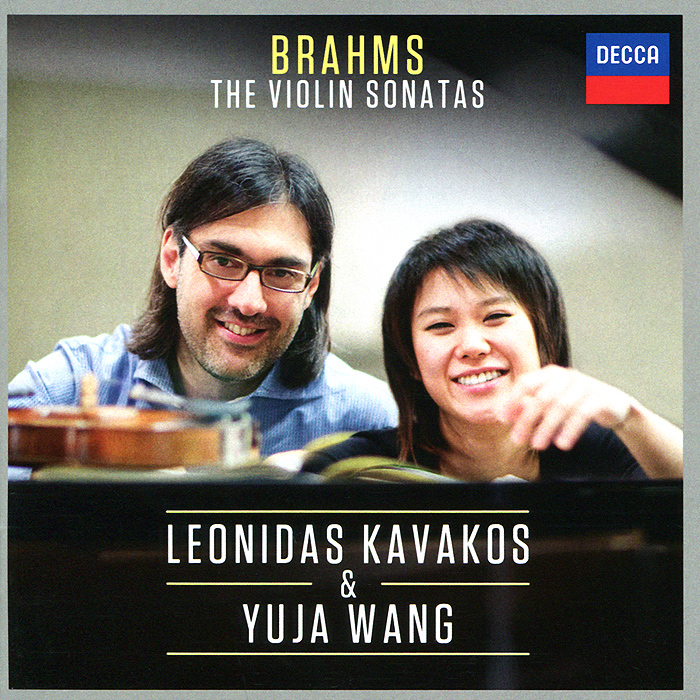 Леонидас Кавакос,Ван Юйцзя Leonidas Kavakos, Yuja Wang. Brahms. The Violin Sonatas pinchas zukerman brahms the violin sonatas the viola sonatas 2 cd