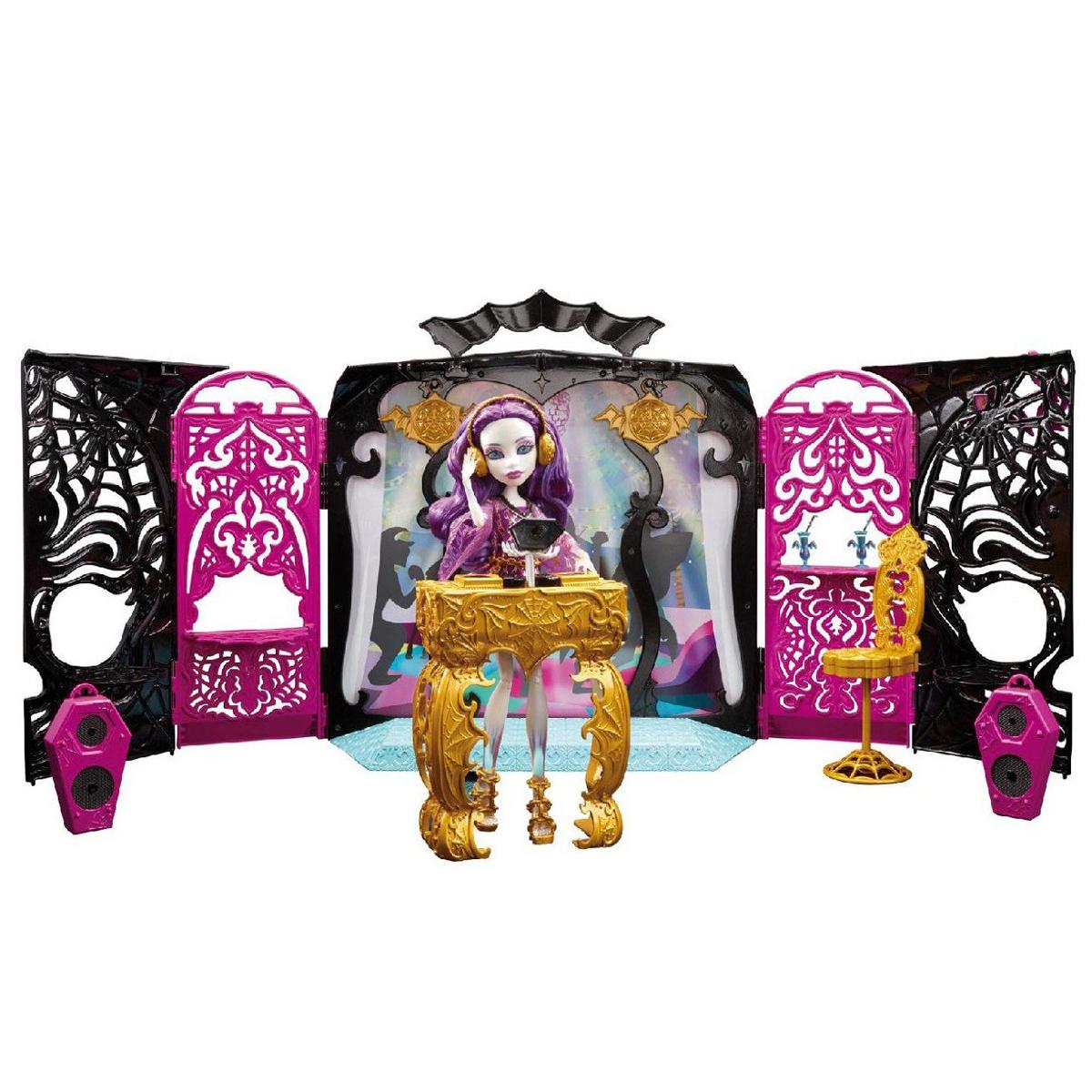 Monster High Игровой набор с куклой 13 Желаний Монстростическая вечеринка