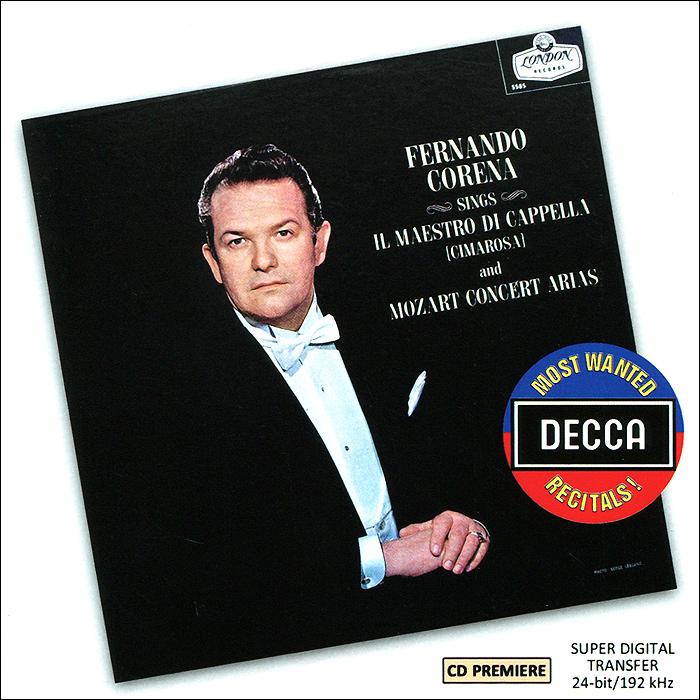 Фернандо Корена A Recital Of Mozart. Arias By Fernando Corena флавиано лабо an operatic recital by flaviano labo