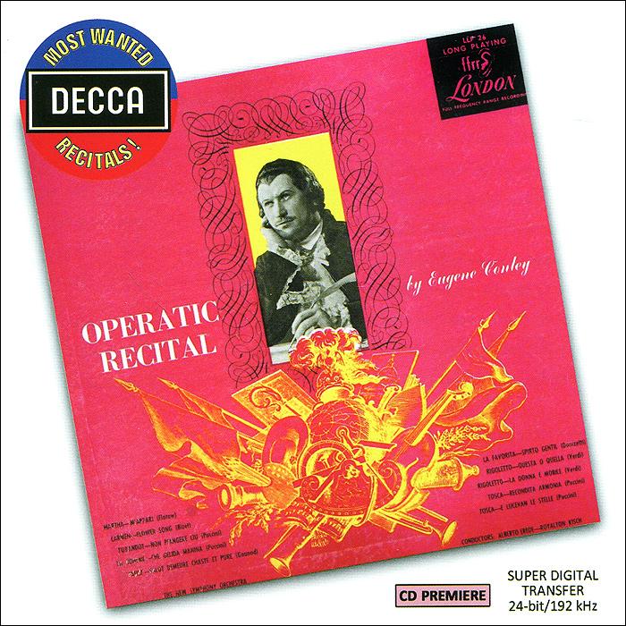 Юджин Конли Operatic Recital By Eugene Conley флавиано лабо an operatic recital by flaviano labo