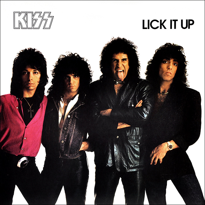 Kiss Kiss Lick It Up LP