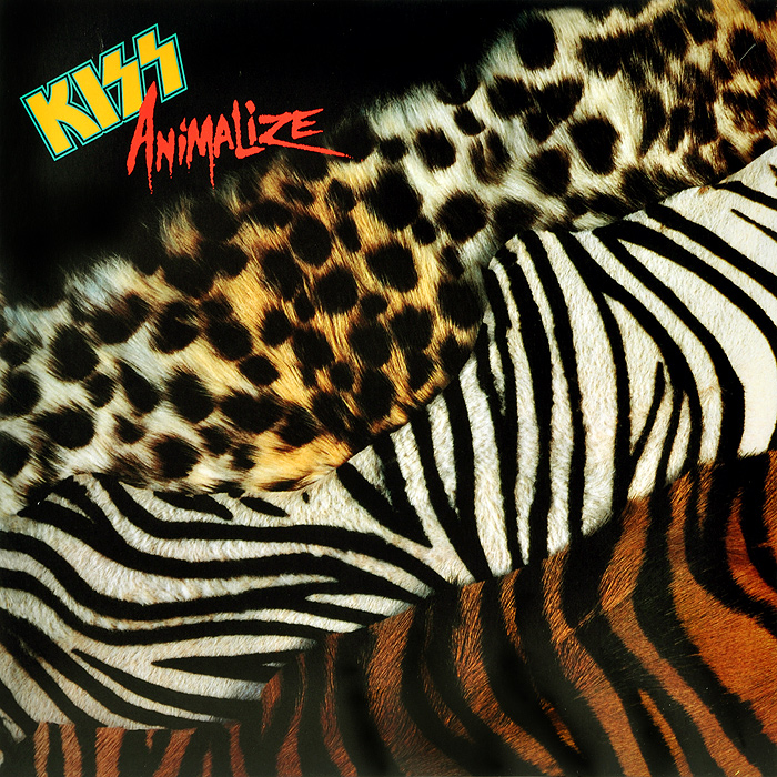 Kiss Kiss Animalize LP
