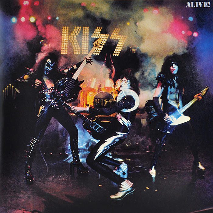 Kiss Kiss Alive 2 LP