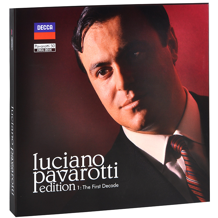 Лучано Паваротти Luciano Pavarotti. Edition 1. The First Decade (27 CD + LP) джоан сазерленд лучано паваротти maria casula english chamber orchestra ричард бонинг donizetti l elisir d amore sutherland pavarotti eco bonynge 2 cd blu ray audio