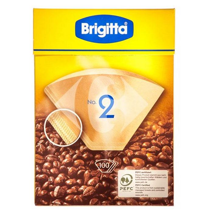 цена на Melitta Brigitta No.2 фильтры бумажные, 100 шт.