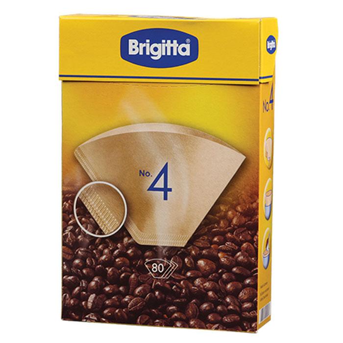 цена на Melitta Brigitta No.4 фильтры бумажные, 80 шт.
