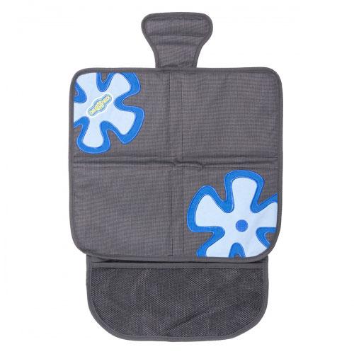Защитная накидка под бустер Смешарики, цвет: серый, синий защитная накидка под бустер смешарики цвет серый красный