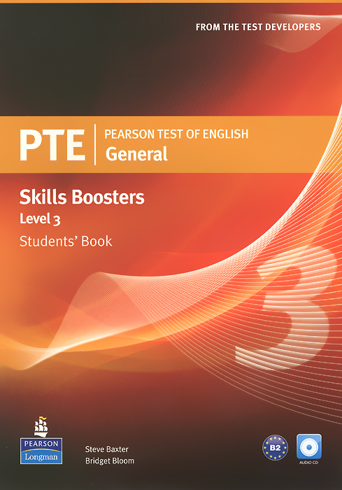 PTE General Skills Booster: Level 3: Student's Book (+ 2CD-ROM) longman introductory course for the toefl test the paper test student book and cd rom with answer key