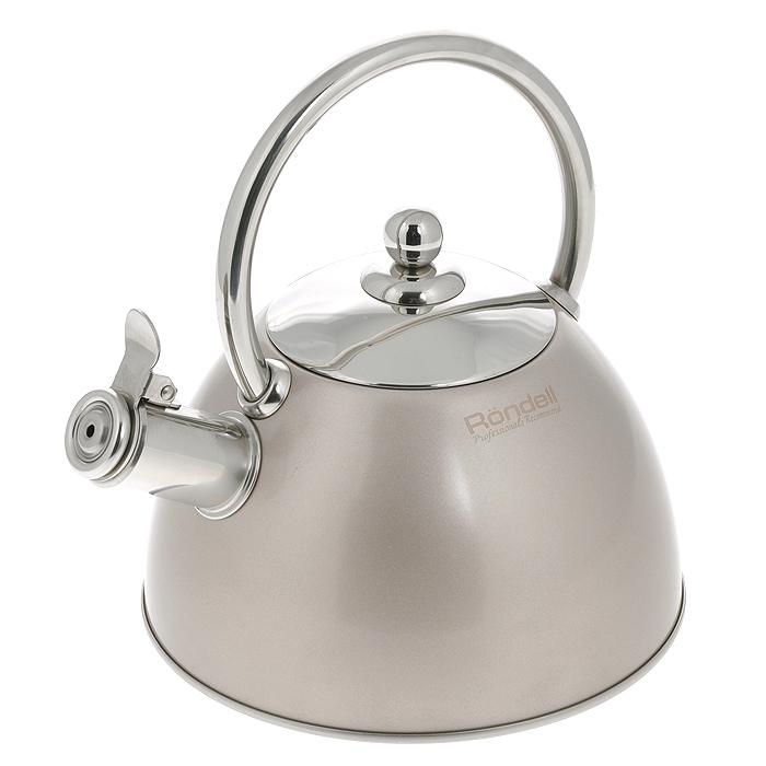 Чайник Rondell Nelke, со свистком, 2 лRDS-103Чайник Rondell Nelke изготовлен из высококачественной нержавеющей стали 18/10, благодаря чему не подвержен коррозии, устойчив к органическим кислотам, долговечен и прост в уходе. Капсулированное дно чайника способствует быстрому закипанию воды даже при небольшой мощности конфорок. Внешнее покрытие позволяет легко ухаживать за чайником и обеспечивает безупречный внешний вид. Наличие свистка позволяет следить за кипением чайника. Свисток открывается при помощи клапана. Стильный дизайн изделия украсит любую кухню. Чайник подходит для использования на всех видах плит, включая индукционные. Нельзя мыть в посудомоечной машине. Характеристики: Материал: нержавеющая сталь 18/10. Объем: 2 л. Диаметр основания чайника: 20 см. Высота чайника (без учета крышки и ручки): 12 см. Высота чайника (с учетом ручки): 23 см. Посуда Rondell совсем недавно появилась на российском рынке, но уже прекрасно себя зарекомендовала. Эту посуду по достоинству оценили тысячи любителей кулинарии, а рекомендации профессионалов - шеф-поваров многих ресторанов и ведущих популярных кулинарных программ служат дополнительным весомым аргументом в ее пользу. Профессиональные технологии, изысканный дизайн и широкий ассортимент делают посуду Rondell исключительно привлекательной для всех, кто любит и умеет готовить.
