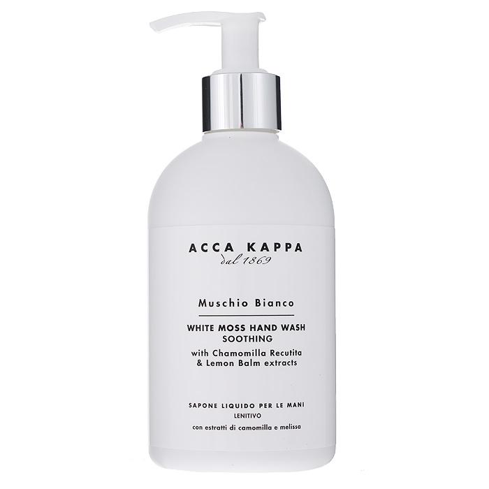 Acca Kappa Жидкое мыло для рук Белый мускус, 300 мл молочко для тела acca kappa acca kappa ac001ludwbq9