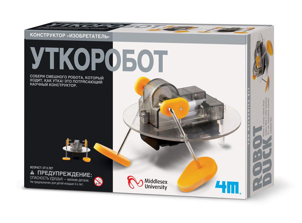 Фото - Конструктор 4M Изобретатель: Уткоробот конструктор 4m изобретатель щеткоробот