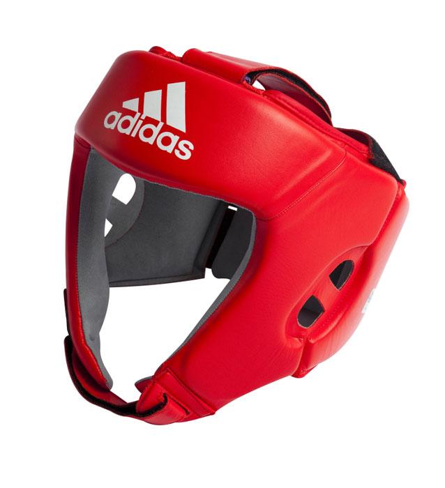 Шлем боксерский Adidas AIBA, цвет: красный. AIBAH1. Размер M (48-52 см) все цены