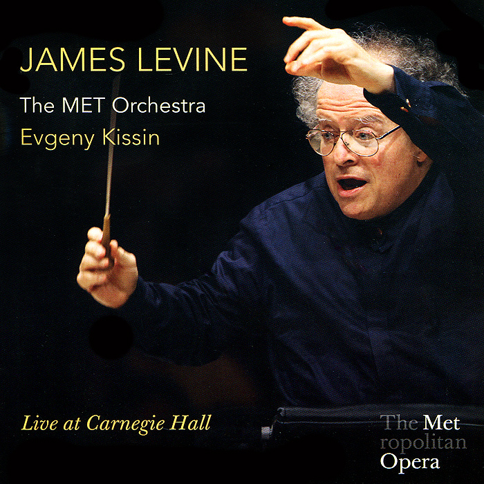 Джеймс Левайн,The Metropolitan Opera Orchestra James Levine. Live At Carnegie Hall (2 CD)