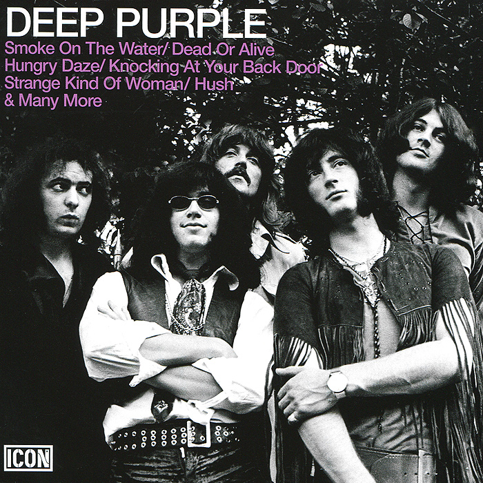 Deep Purple Deep Purple. Icon: Deep Purple cd deep purple infinite