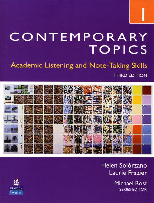 Contemporary Topics 3Ed 1 SB+DVD contemporary topics 3ed intr sb dvd