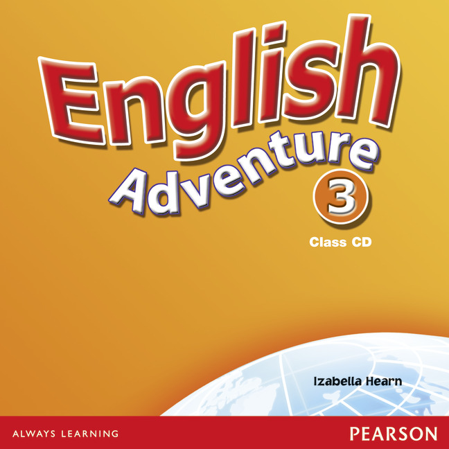 English Adventure: Level 3: Class CD (аудиокурс на 2 CD) about a boy level 4 pearson english active readers cd