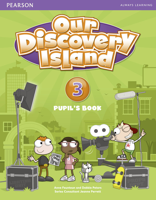 Фото - Our Discovery Island: Level 3: Pupil's Book (+ Access Code) interactive level 3 student s book with web zone access