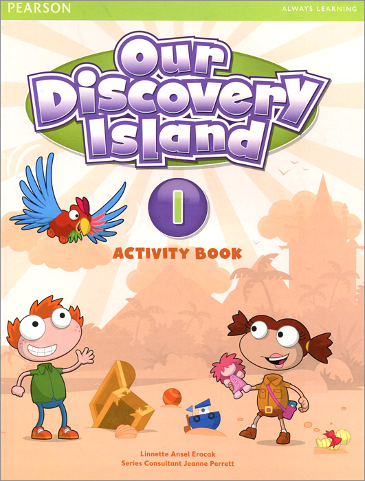 Our Discovery Island 1: Activity Book (+ CD-ROM) цена и фото
