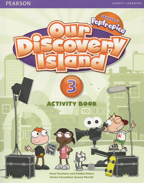 Our Discovery Island 3: Activity Book (+ CD-ROM) цена и фото