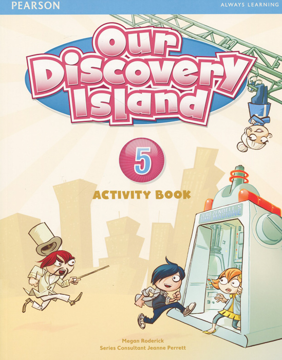 Our Discovery Island 5: Activity Book (+ CD-ROM) цена и фото