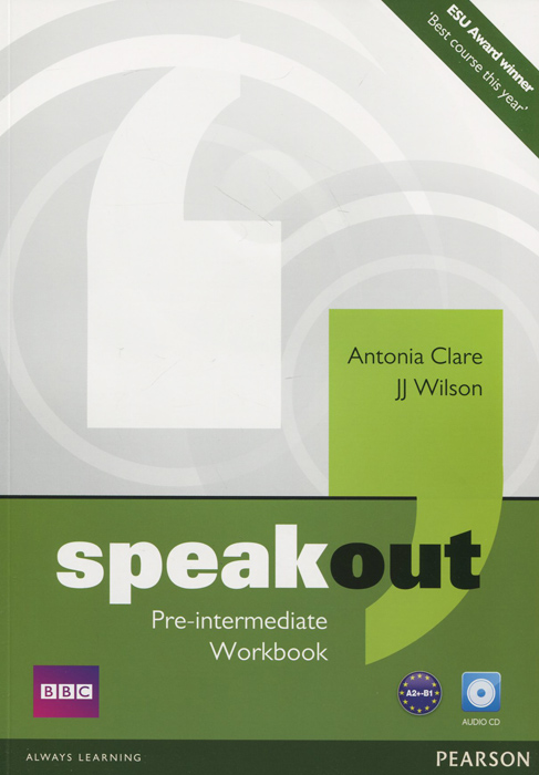 Speakout: Pre-Intermediate: Workbook (+ CD) speakout elementary workbook cd rom