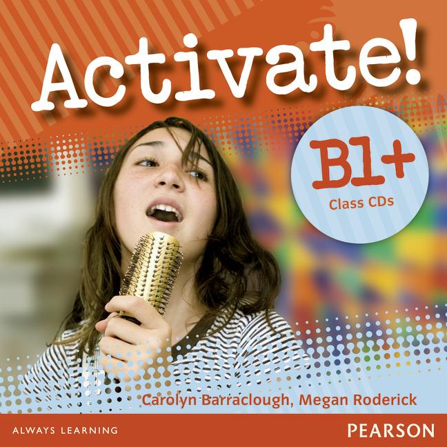 Activate! B1+: Class CDs (аудиокурс на 2 CD) waish c activate b1 teacher s book