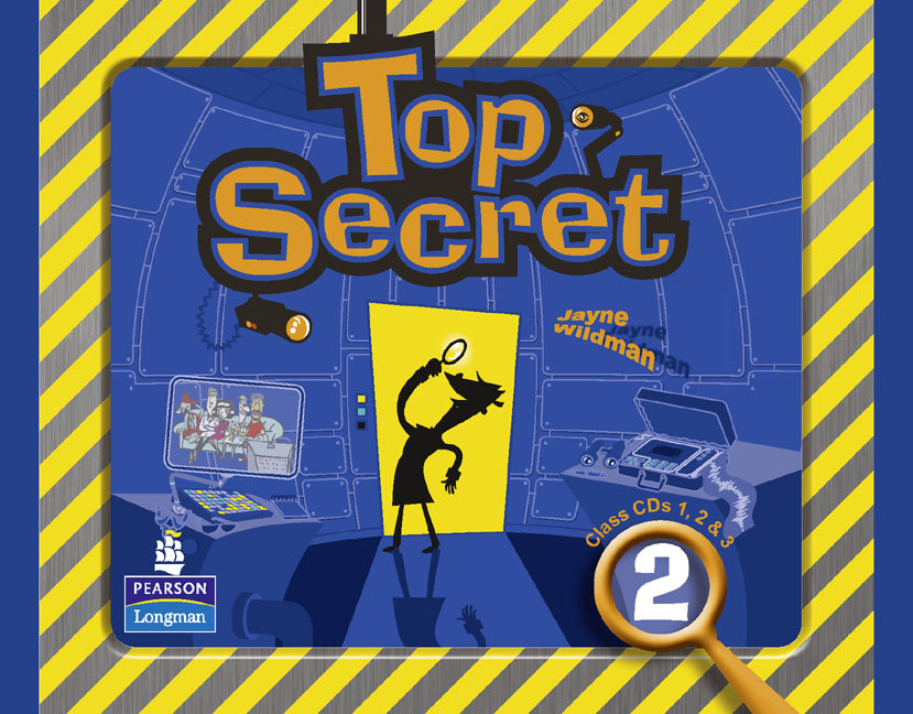 Top Secret 2: Class CDs (аудиокурс на 3 CD) first trainer audio cds аудиокурс на 4 cd