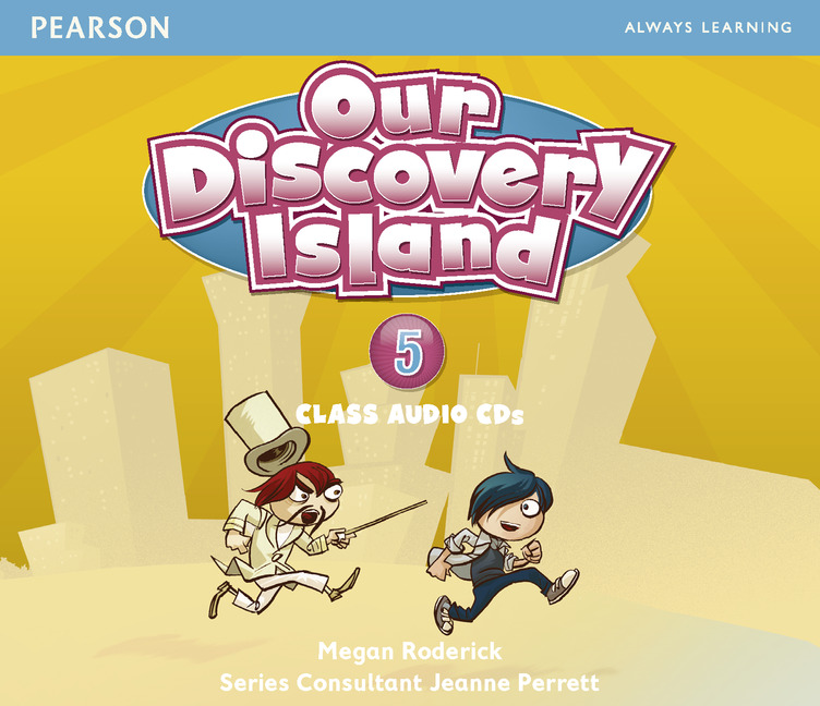 Our Discovery Island: Level 5 (аудиокурс на 3 CD) цена и фото
