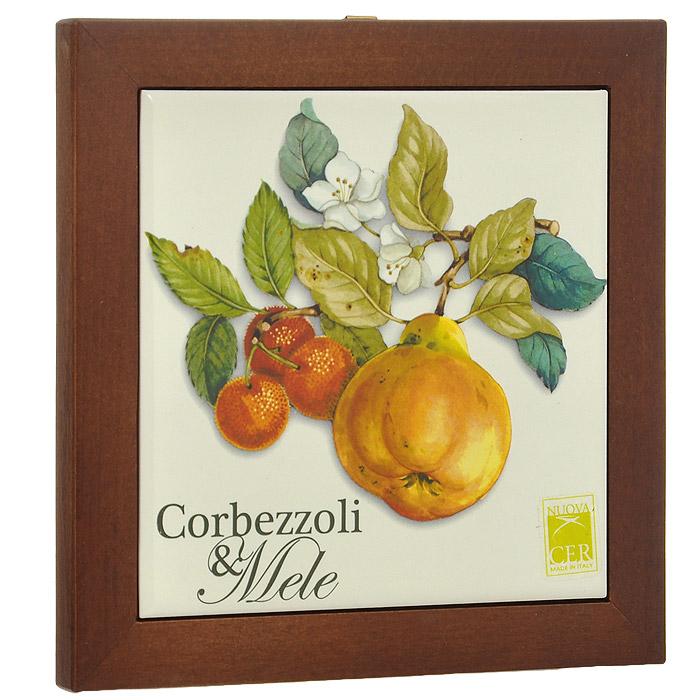 Подставка под горячее Nuova Cer Итальянские фрукты. NC6592-CEM-AL блюдо для запекания nuova cer итальянские фрукты 32 х 19 см