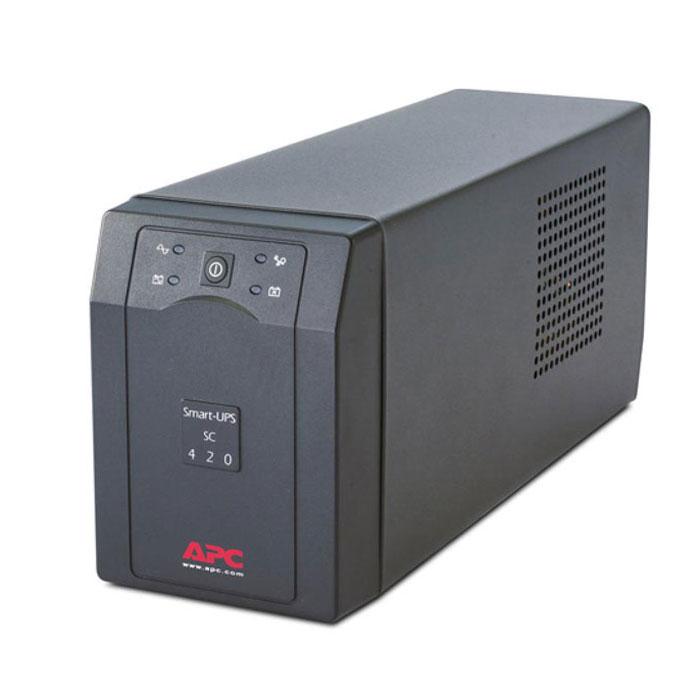 ИБП APC SC420I Smart-UPS 420VA сетевое оборудование знаменские садки