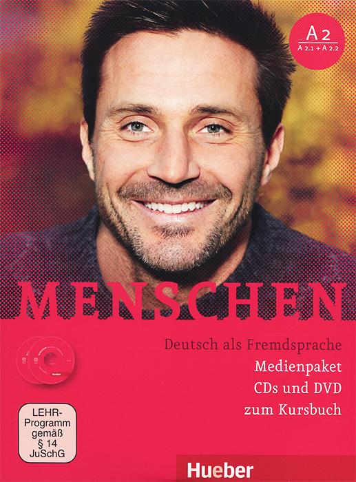 Menschen: Deutsch als Fremdsprache (комплект из 2 CD + DVD) матрас lonax memory medium s1000 140x190