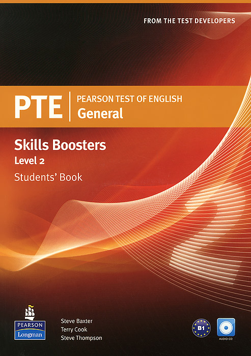 PTE: General: Skills Booster: Level 2: Student's Book (+ CD-ROM) longman introductory course for the toefl test the paper test student book and cd rom with answer key
