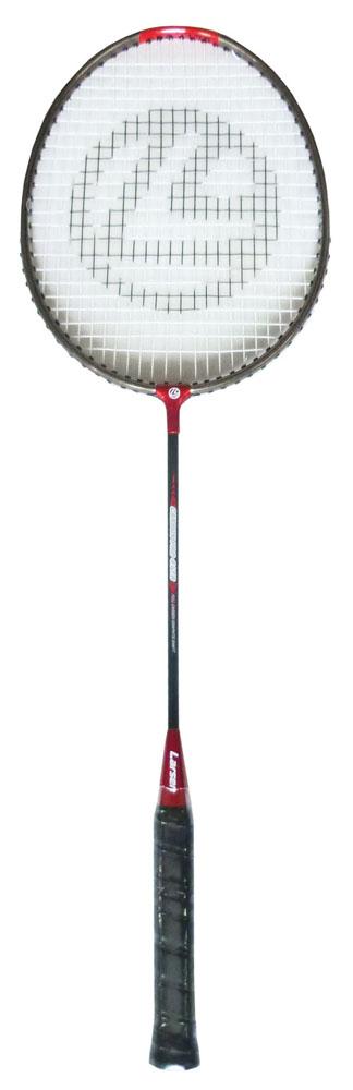 Ракетка для бадминтона Larsen 417B, цвет: черный, красный