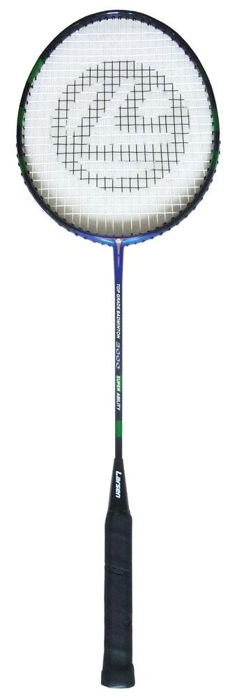 Ракетка для бадминтона Larsen 2000, цвет: синий, черный, зеленый