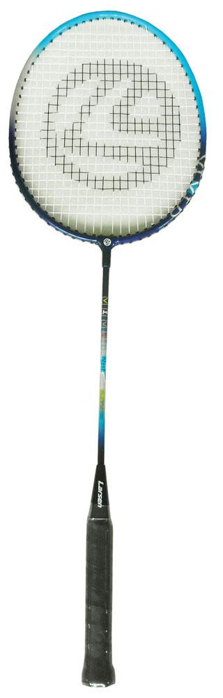Ракетка для бадминтона Larsen 317VIVID, цвет: черный, голубой