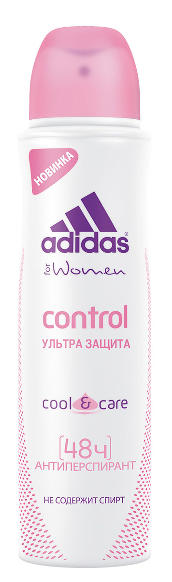 "Adidas ""Action 3 Control"". Дезодорант женский, 150 мл"