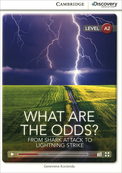 купить What Are the Odds? From Shark Attack to Lightning Strike: Low Intermediate Book with Online Access по цене 424 рублей