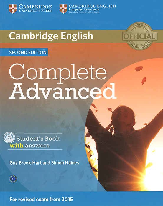 Complete Advanced: Student's Book with Answers (+ CD-ROM) complete advanced student s book with answers with cd rom with testbank