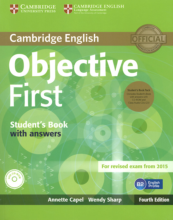 Objective First: Student's Book with Answers (+ 3 CD-ROM) the olympics level 3 cd rom