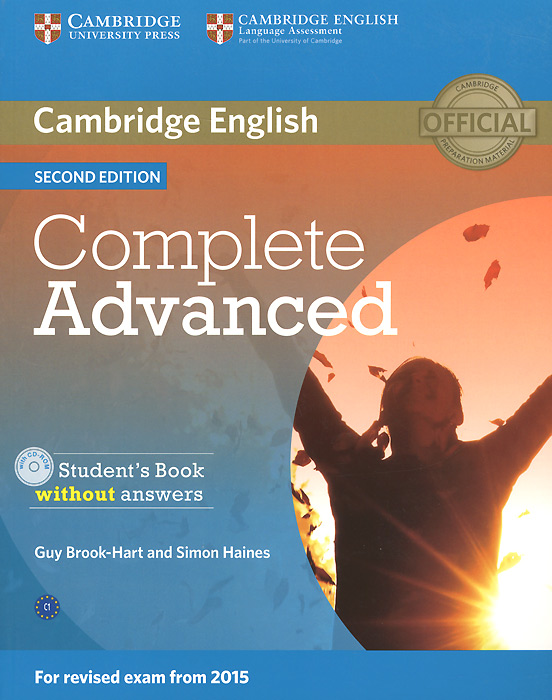Фото - Complete Advanced: Student's Book without Answers (+ CD-ROM) objective key student s book without answers cd rom