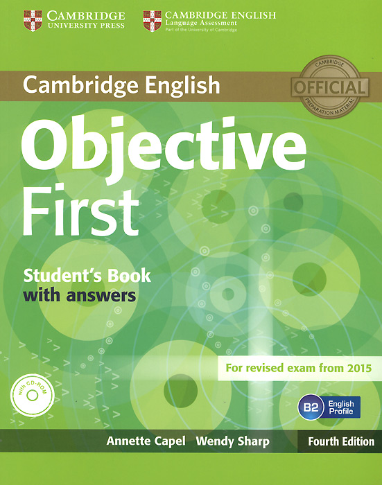 Objective First: Student's Book with Answers (+ CD-ROM) цена