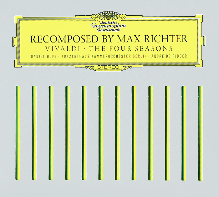Макс Рихтер,Даниэль Хоуп,Werner Ehrhardt Max Richter. Vivaldi. The Four Seasons (CD + DVD) музыка dvd audio dts