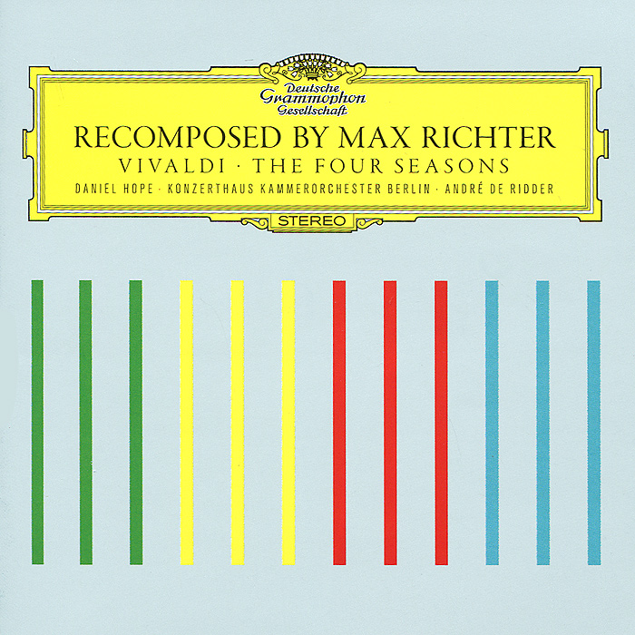 Макс Рихтер,Даниэль Хоуп,Werner Ehrhardt Max Richter. Vivaldi. The Four Seasons vivaldi vivalditrevor pinnock the four seasons
