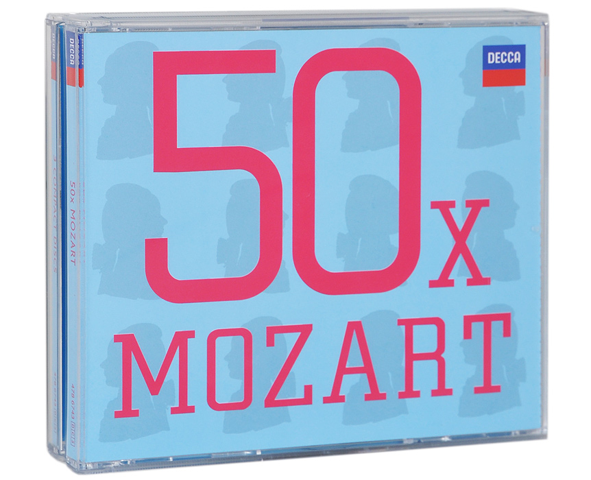 50 x. Mozart (3 CD) x cd