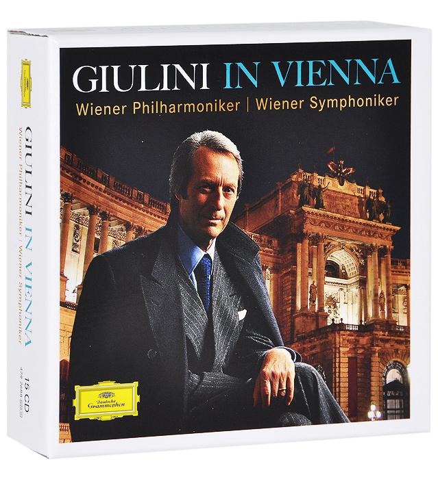 Wiener Philharmoniker, Wiener Symphoniker. Carlo Maria Giulini. Giulini In Vienna (15 CD)