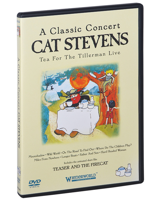 A Classic Concert Cat Stevens: Tea For The Tillerman Live кэт стивенс cat stevens tea for the tillerman