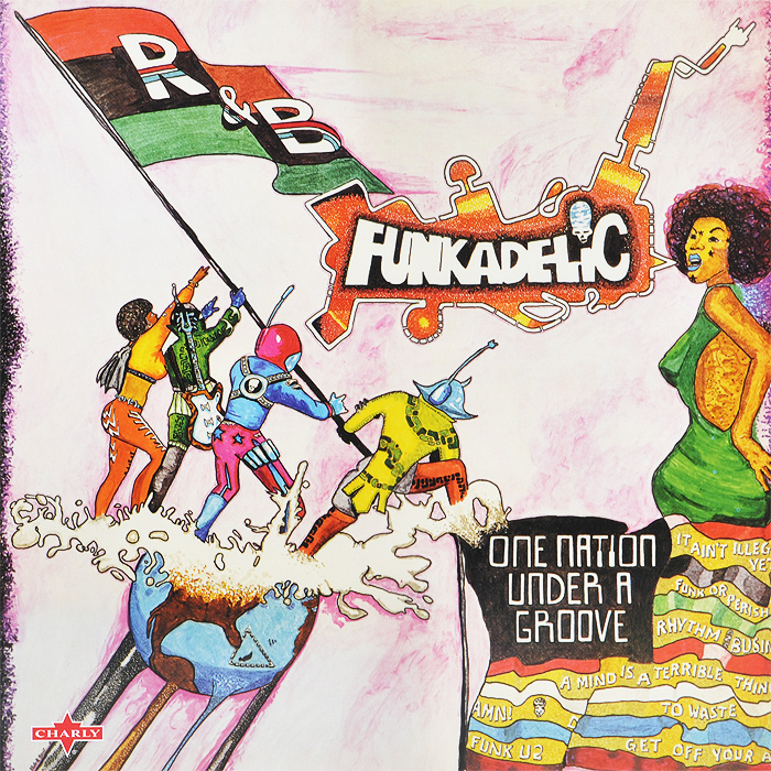 Funkadelic Funkadelic. One Nation Under A Groove (2 LP) black panther a nation under our feet book 3