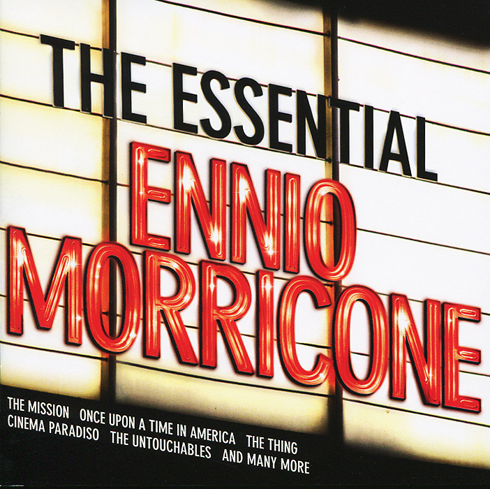 Эннио Морриконе Ennio Morricone. The Essential Ennio Morricone (2 CD) саундтрек саундтрекennio morricone the mission 180 gr